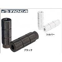 TIOGA(タイオガ) 25mmアルミフットペグ ブラック FPG02300