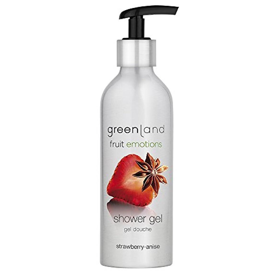 未接続ずらす予想するgreenland [FruitEmotions] シャワージェル 200ml ストロベリー&アニス FE0217