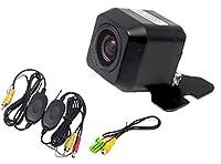 MAX618W 対応 広角170° 高画質CCD バックカメラ 超高精細 CCD センサー 【ワイヤレスキット付】 【クラリオン】