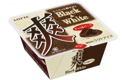 ロッテ 爽 Black&White チョコ&バニラ 18個入