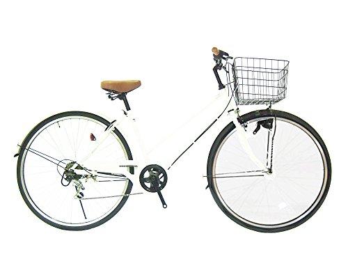26インチ ダイナモライト 婦人車 自転車 シマノ外装6段ギア 100%完成車 Lupinusルピナス LP-266SD パイプキャリア