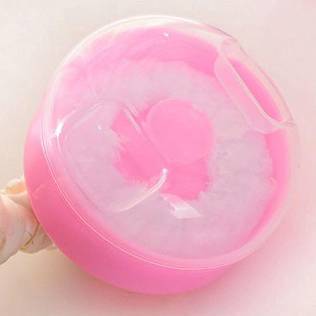 ブレス法律により治すBaby Powder Puff Kit Kids Gift (pink) by Teely