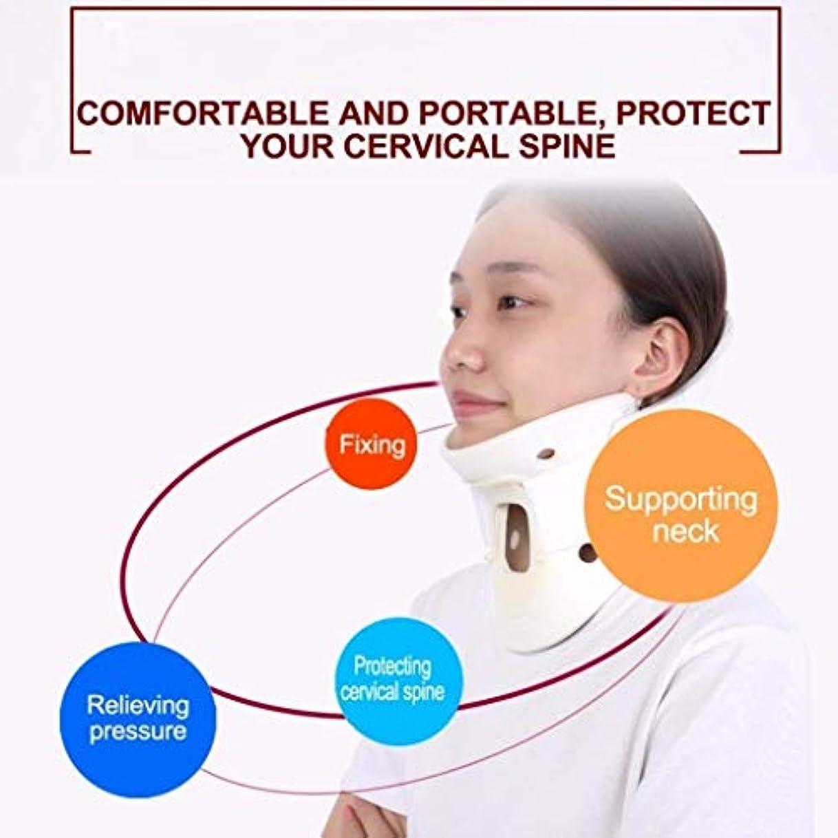 プライバシーアテンダント旋律的ネックマッサージャー、通気性ネックサポートケアツール、ホームマッサージ頸椎、圧力/痛みを和らげる、医療ネックトラクションリングホルダー