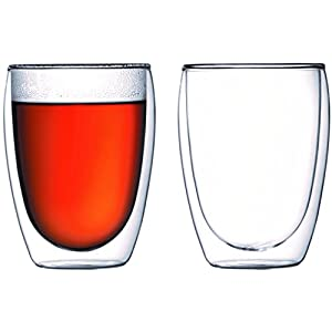 【正規品】 BODUM ボダム PAVINA パビーナ 電子レンジOK 断熱 保温 保冷 タンブラー ダブルウォールグラス 350ml (2個セット) 4559-10
