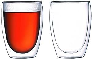 Amazon.co.jp : 【正規品】 BODUM ボダム PAVINA ダブルウォールグラス 350ml (2個セット) 4559-10 : ホーム&キッチン