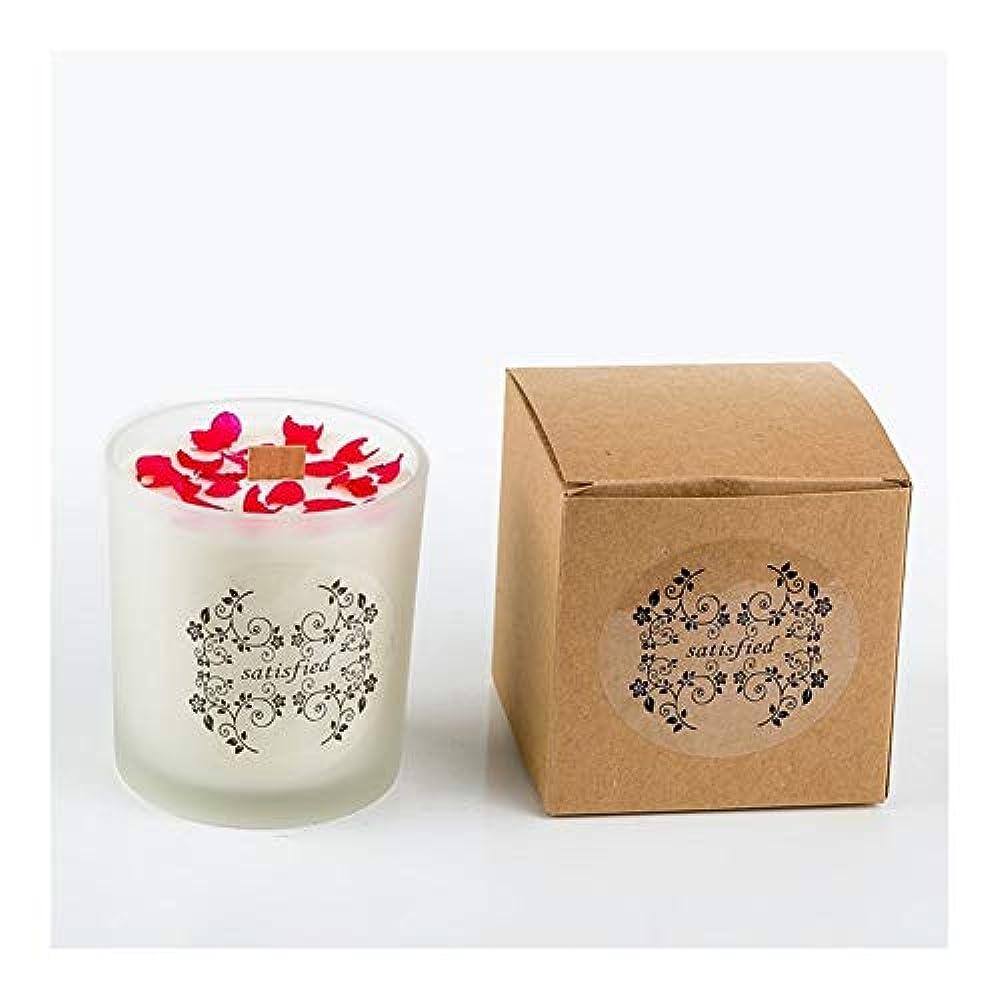 軍艦共和国泥だらけZtian ロマンチックな香りのキャンドルエッセンシャルオイル大豆ワックスガラスアロマセラピーロマンチックな誕生日ギフトの提案無煙の香り (色 : Xiang Xuelan)