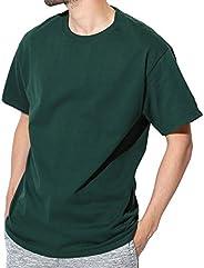 Champion(チャンピオン) Authentic ベーシックTシャツ メンズ 半袖 コットン 無地