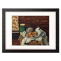 ポール・セザンヌ Paul Cézanne 「Still life. About 1885」 額装アート作品