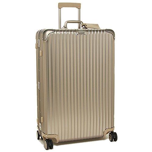 (リモワ) RIMOWA リモワ スーツケース RIMOWA 923.77.03.4 TOPAS TITANIUM トパーズ 81.5CM 98L 7~10泊用 4輪 TSAロック キャリーバッグ GOLD [並行輸入品]