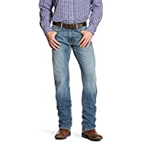 ARIAT Men's M5 Slim Fit Straight Leg Jean, Stirling Nolin, 40 32