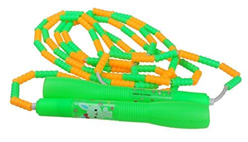 ジャンプロープ調整可能飛散防止プラスチックビーズ