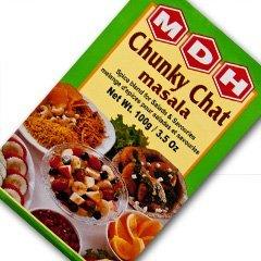 MDH チャットマサラ 100g 1箱 チャイバック1包付き Chunky Chat masala スパイス ハーブ 香辛料 調味料 ミックススパイス 業務用
