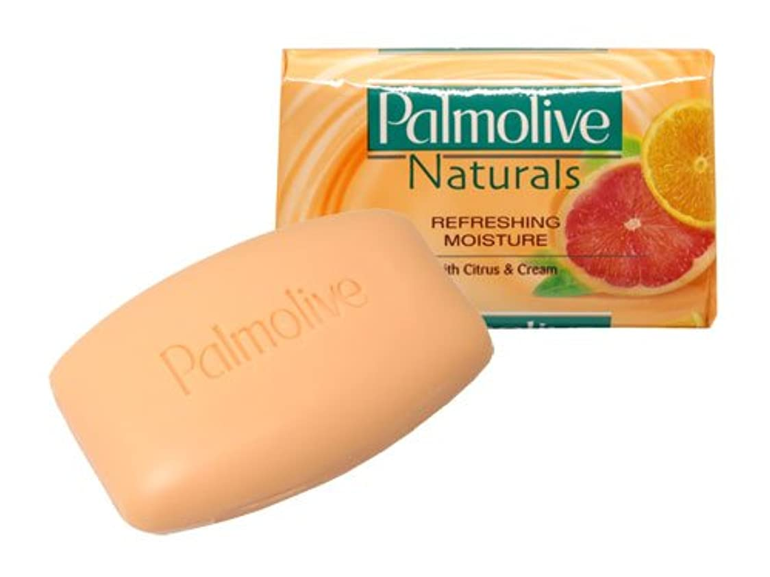 野心校長四回【Palmolive】パルモリーブ ナチュラルズ石鹸3個パック(シトラス&クリーム)