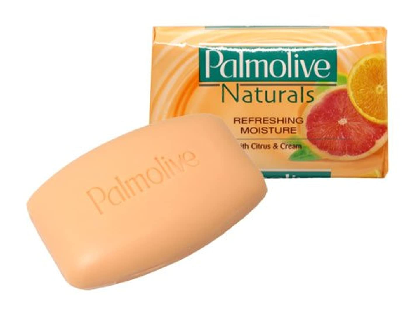 緩む真夜中野望【Palmolive】パルモリーブ ナチュラルズ石鹸3個パック(シトラス&クリーム)