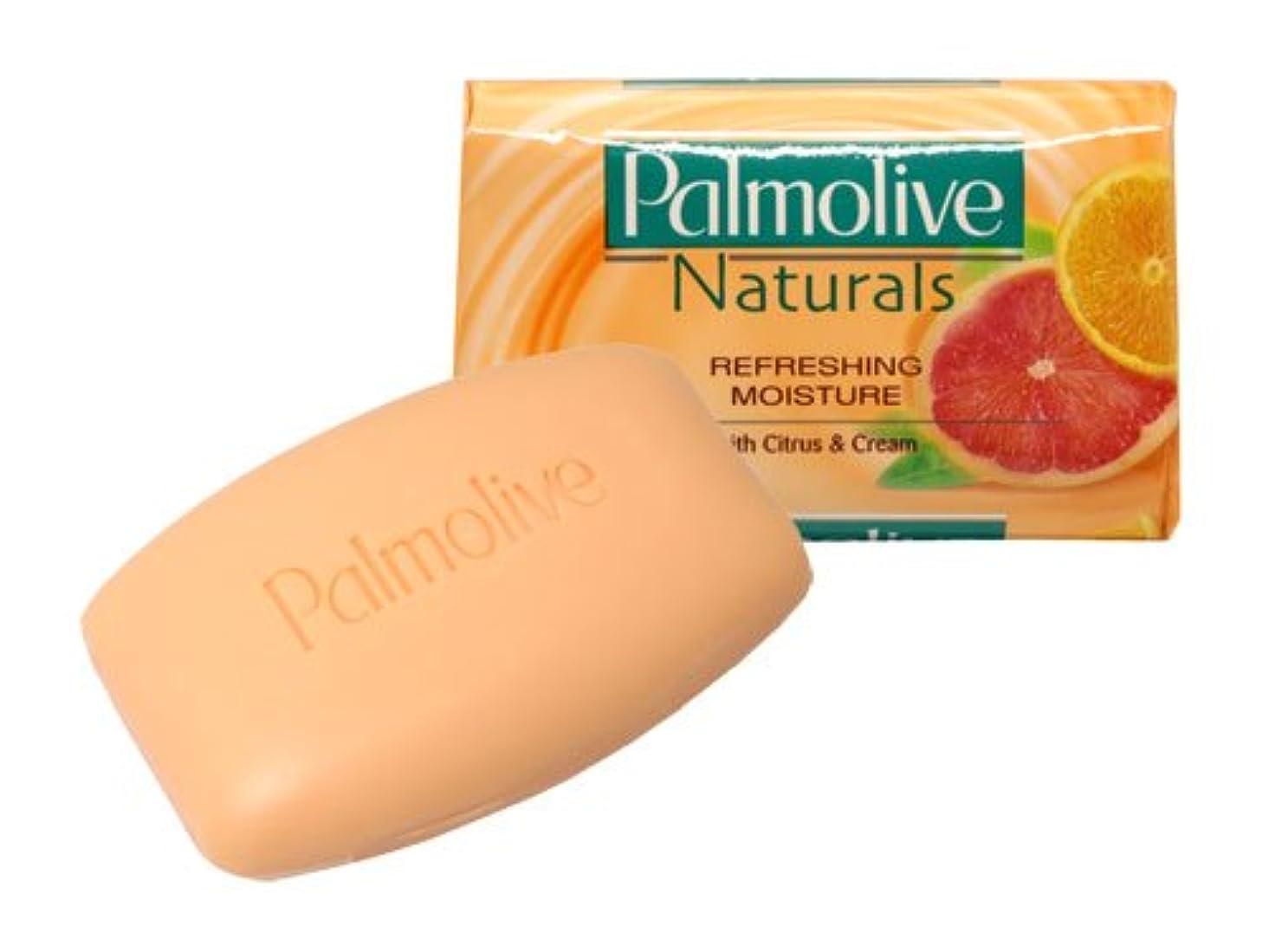 結晶統治する義務【Palmolive】パルモリーブ ナチュラルズ石鹸3個パック(シトラス&クリーム)