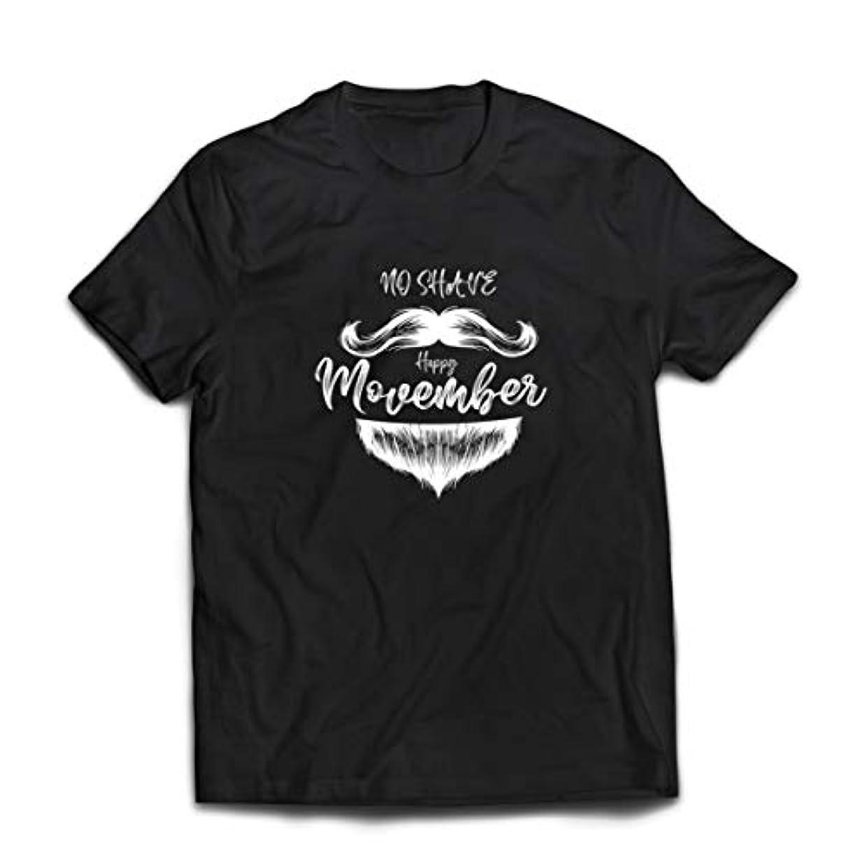 農業のエアコン国旗lepni.me 男性用Tシャツ Movember Moustache Grower, No Shave November Beard Mode