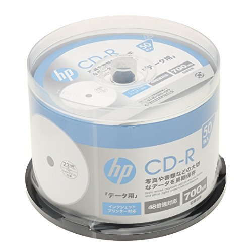 hp(ヒューレット・パッカード) データ用CD-R ホワイト...