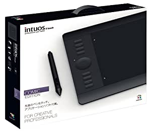 Wacom 台数限定 プロフェッショナルペンタブレット CLIP STUDIO PAINT EX付属 Intuos5 Comic Edition PTH-650/K3