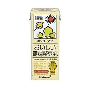 キッコーマン飲料 おいしい無調整豆乳 200m...の関連商品2