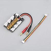 Bibipangstore 6パックXT30 1S-3S 20A XT30プラグバッテリーパラレル充電ボード用RC IMAX B6充電器車のドローンバランス充電部