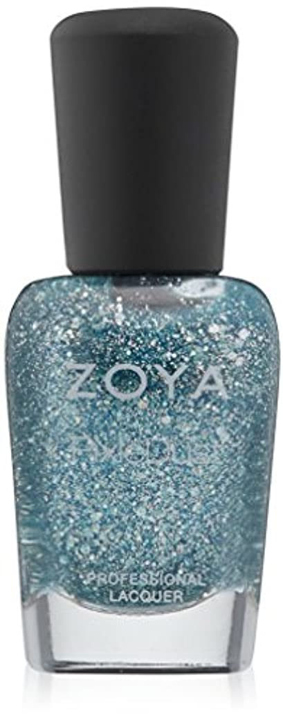 閃光神経障害十代ZOYA ゾーヤ ネイルカラー ZP718 Vega ベガ 15ml  Magical Pixie 2014 Spring Collection ブルーオパール マット?グリッター 爪にやさしいネイルラッカーマニキュア