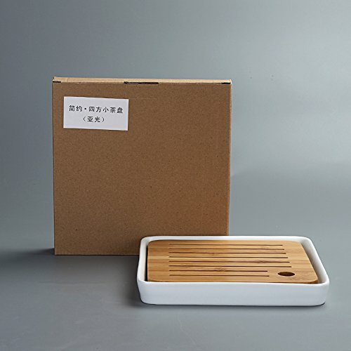 pottery mall 竹茶盤 貯水式 (008)
