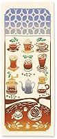 kenema 手ぬぐい 趣味道楽/行きつけの喫茶店 36×90cm 注染手拭い 50064