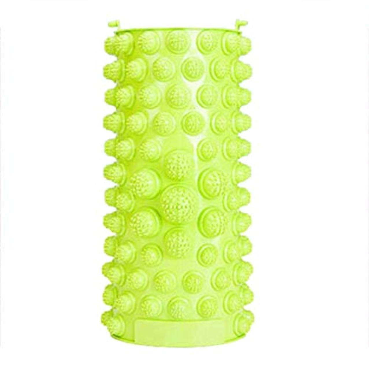 セッティング効能説明的バードランタンフットマッサージパッド痛みを緩和するウォークストーンマッサージマットマッスルスティミュレーターヘルスケア指圧療法リラクゼーショングリーン(緑)