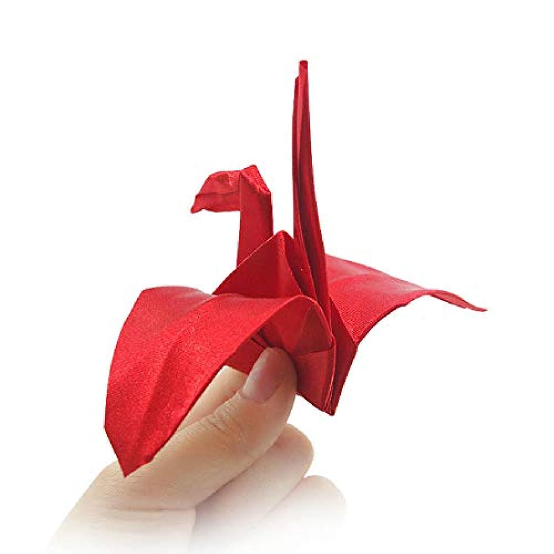 千羽鶴 バレンタインデーに魔法告白 白い 赤い (赤い)