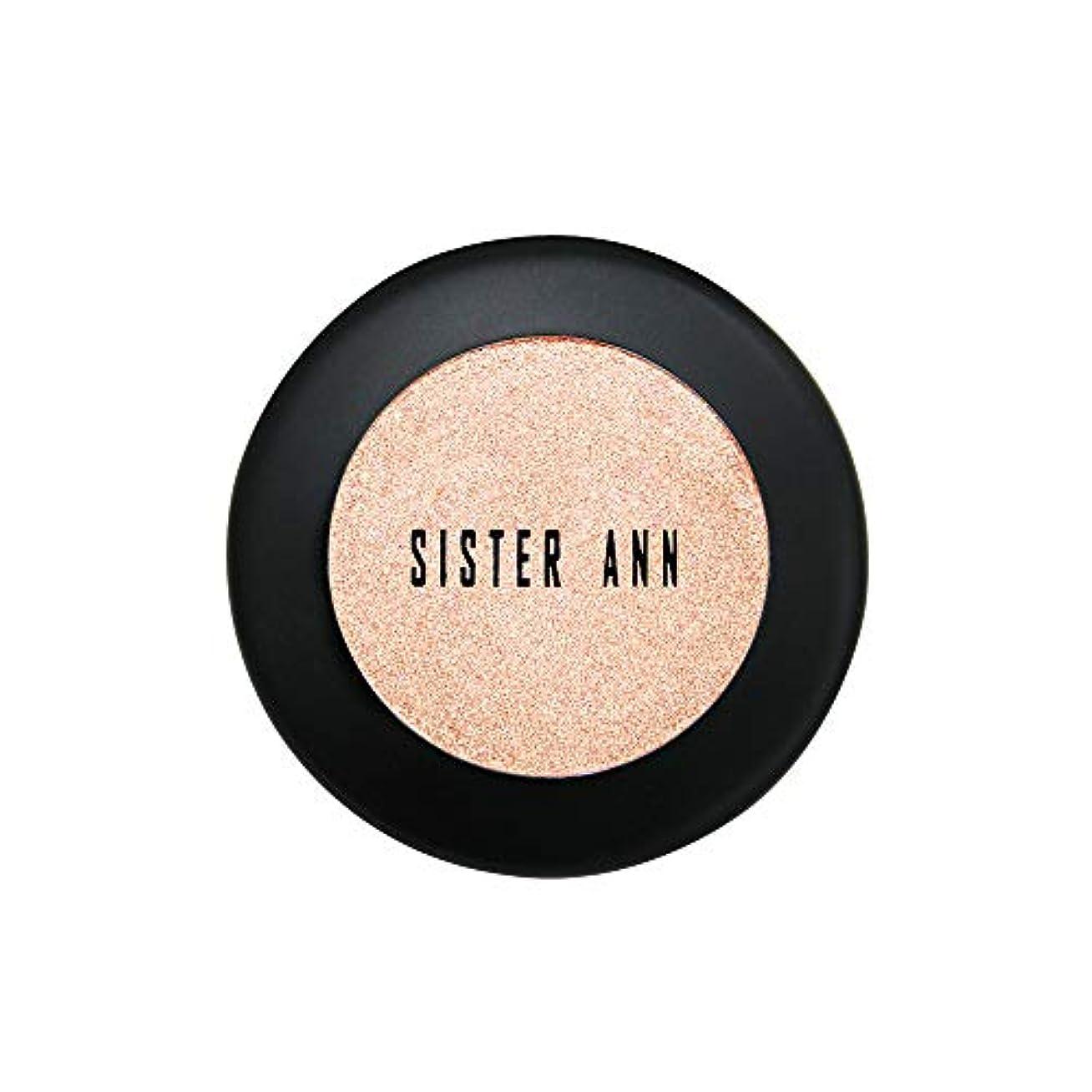 約設定公然とコンテスト[SISTER ANN] カラーシャインシャドウ (Glam Beige)