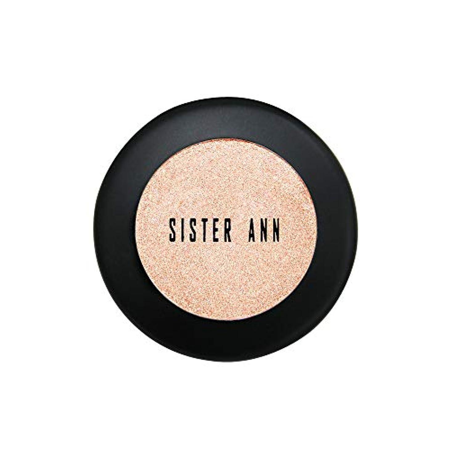 影響力のある接続された熟した[SISTER ANN] カラーシャインシャドウ (Glam Beige)