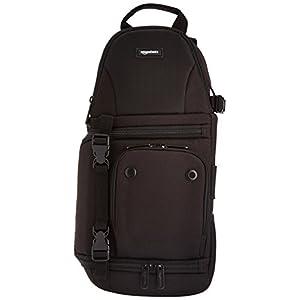Amazonベーシック スリングバッグ 4.5L 一眼レフ用 ブラック
