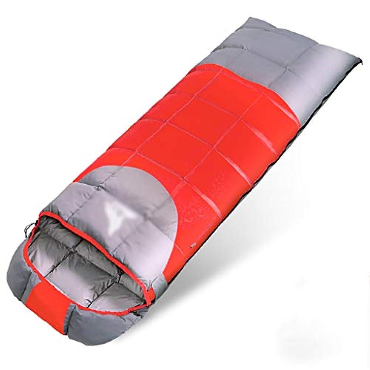 高さ配送名目上の屋外用寝袋 冬シーズン軽量キャンプ封筒寝袋キャンプ、ハイキング、(2.5KG) (色 : A)