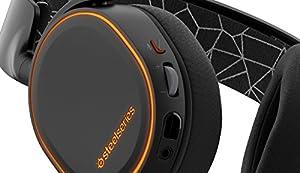 【国内正規品】密閉型 ゲーミングヘッドセット SteelSeries Arctis 5 Black 61443