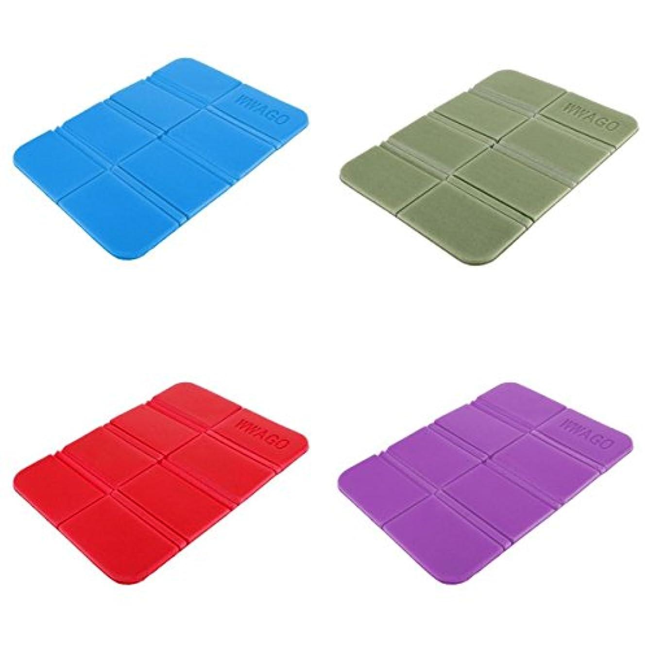 知覚するスキルクレジットT TOOYFUL キャンプシート 折り畳み式 マット キャンプ 防水パッド 耐久性 4本セット