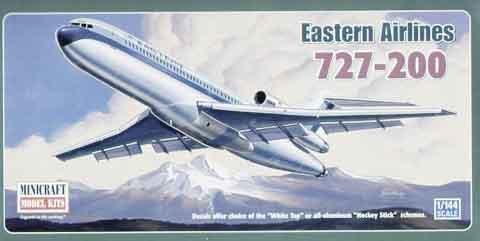 ミニクラフト 14516 1/144 ボーイング727-200 イースタン航空