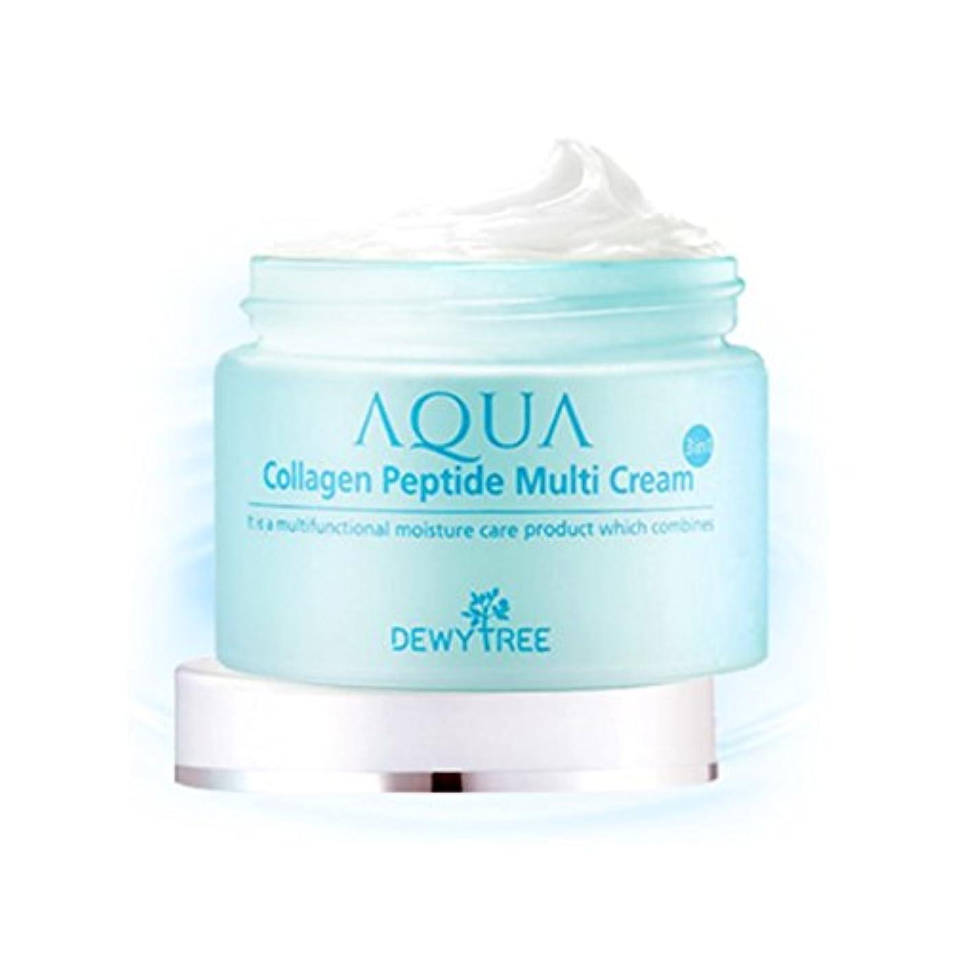 熟練した計り知れないそして[Dewytree] デュイトゥリー アクアコラーゲン ペプチド マルチクリーム Aqua Collagen Peptide Multi Cream (50ml) / [並行輸入品]