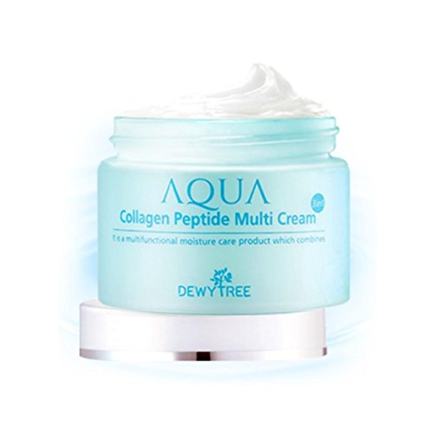 国歌サーキットに行く留め金[Dewytree] デュイトゥリー アクアコラーゲン ペプチド マルチクリーム Aqua Collagen Peptide Multi Cream (50ml) / [並行輸入品]