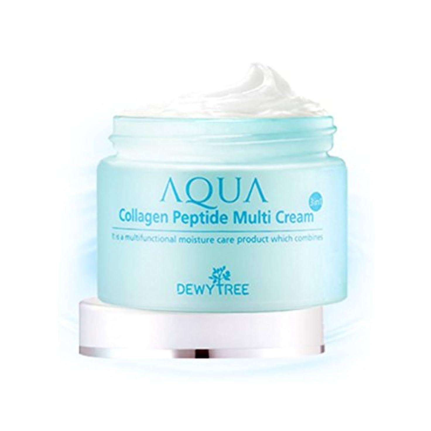 無礼に宣伝上下する[Dewytree] デュイトゥリー アクアコラーゲン ペプチド マルチクリーム Aqua Collagen Peptide Multi Cream (50ml) / [並行輸入品]