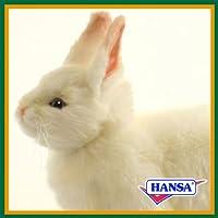 HANSA ハンサ ぬいぐるみ 4671 雪ウサギ 35 SNOW RABBIT