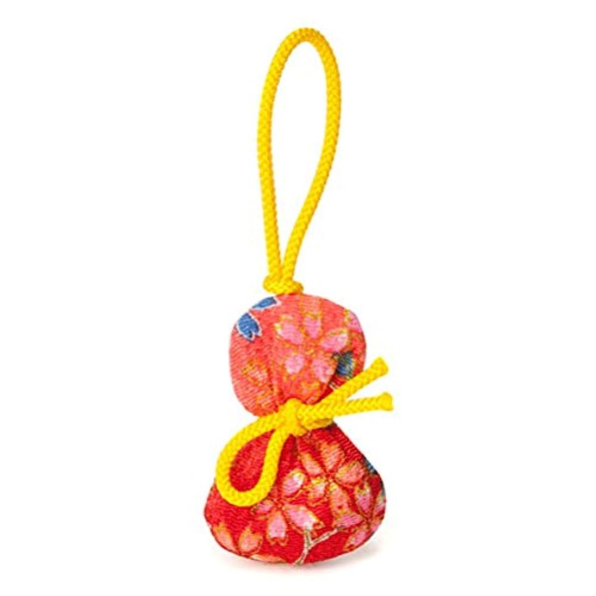 松栄堂 匂い袋 誰が袖 ふくべ 1個入 ケースなし (柄か無地をお選びください) (柄)