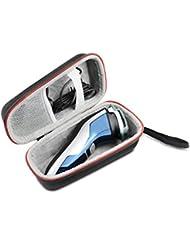 Philips フィリップス メンズシェーバー アクアタッチ AT891A AT791/16 AT883/16 PT764/14 スーパー便利な ハードケースバッグ 専用旅行収納 対応 AONKE