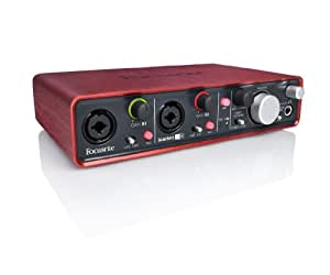 Focusrite Scarlett 2i4 USBオーディオインターフェイス 2イン4アウト Focusriteマイクプリアンプ2基搭載モデル