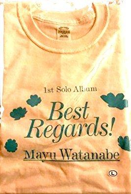 渡辺麻友 Best Regards! ソロライブ Tシャツ ...
