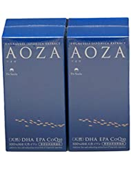 AOZA - アオザ300粒 2個セット ドクタースマイル オメガ3(DHA?EPA?コエンザイムQ10)含有サプリメント