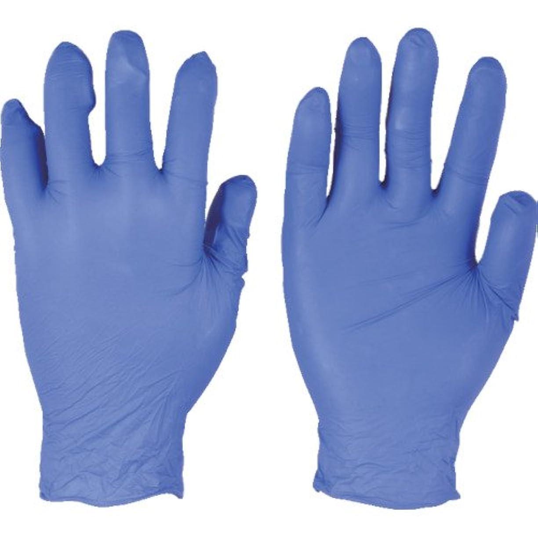 ナースわずらわしい通り抜けるトラスコ中山 アンセル ニトリルゴム使い捨て手袋 エッジ 82-133 Mサイズ(300枚入り)  (300枚入) 821338