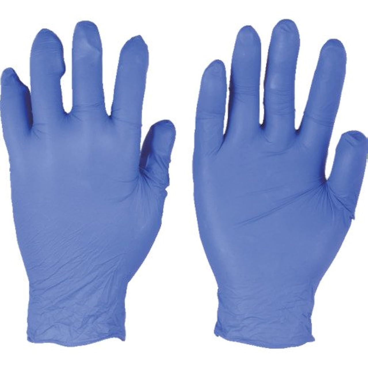 場合香水番号トラスコ中山 アンセル ニトリルゴム使い捨て手袋 エッジ 82-133 Mサイズ(300枚入り)  (300枚入) 821338