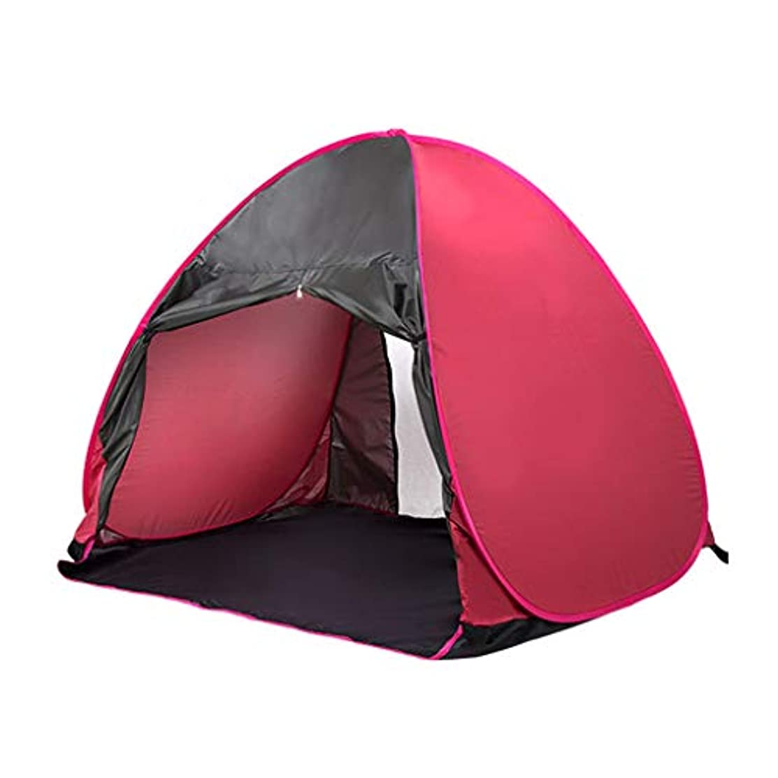 エレクトロニックグリーンランド計算するIDWOI テント シングルビーチテント自動インスタントポップアップ防水軽量ドームテント屋外キャンプシンプルなカップルテント