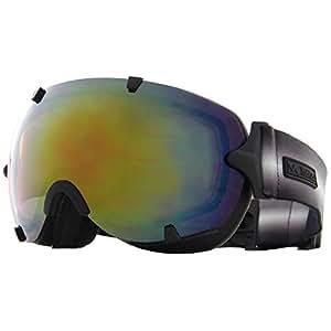 VAXPOT(バックスポット) スノーボードゴーグル 前面レンズ ダブルレンズ くもり止め加工 UVカット メンズ・レディース兼用 VA-3613 BLK-PNK(ユニセックス) フリーサイズ