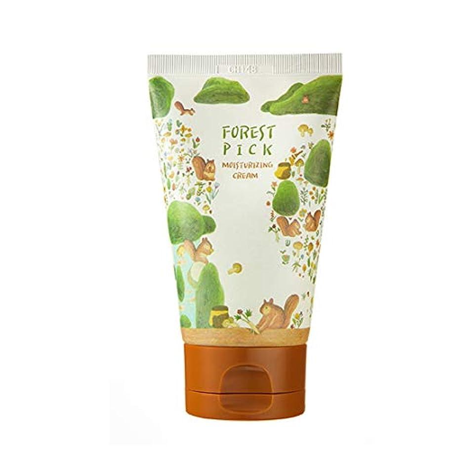 満了ワイヤー暖かさ【PACKAGE】Forest Pick Moist urizing Cream モイスチャーライジング クリーム 保湿 顔 女性 ランキング おすすめ プチプラ 敏感肌